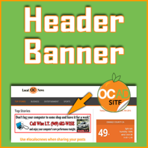 Header Banner Advertising