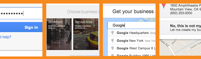 Create and verify a local business on Google