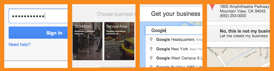 how to create a google business account